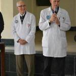 Dr David Thompson and Dr Sherif Hanna